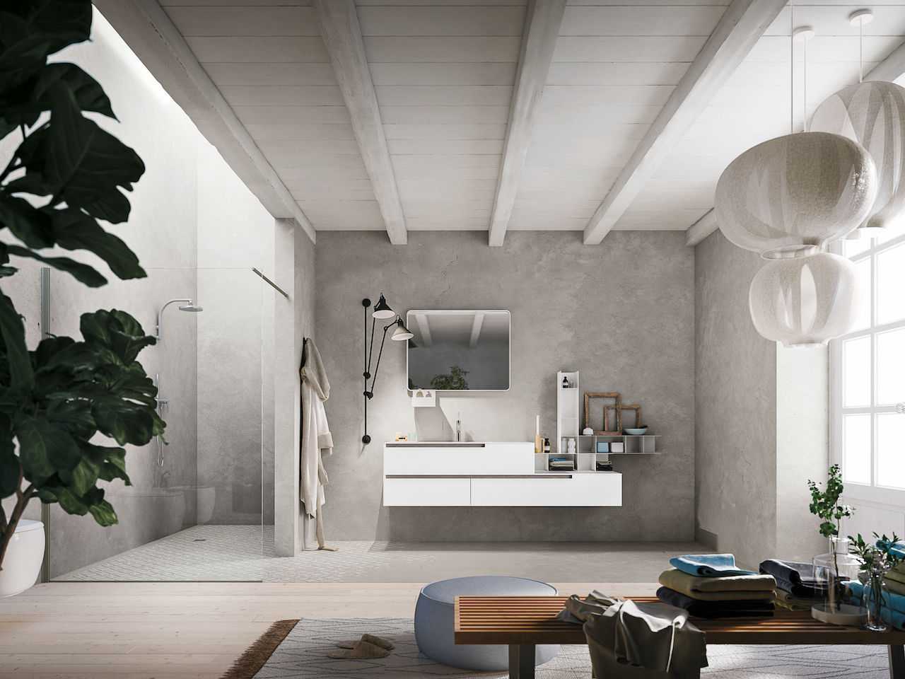 Artesi Arredo Bagno : Nuovi stili per l arredo bagno