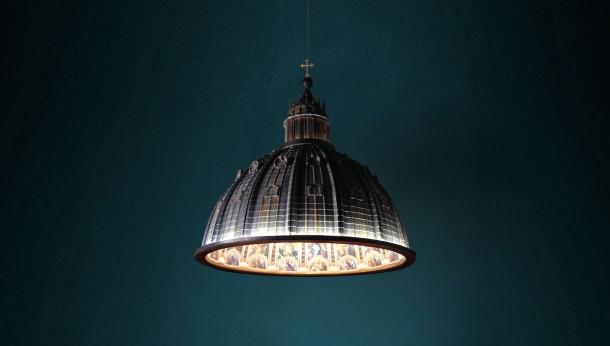 La lampada Cupola: E luce fu.