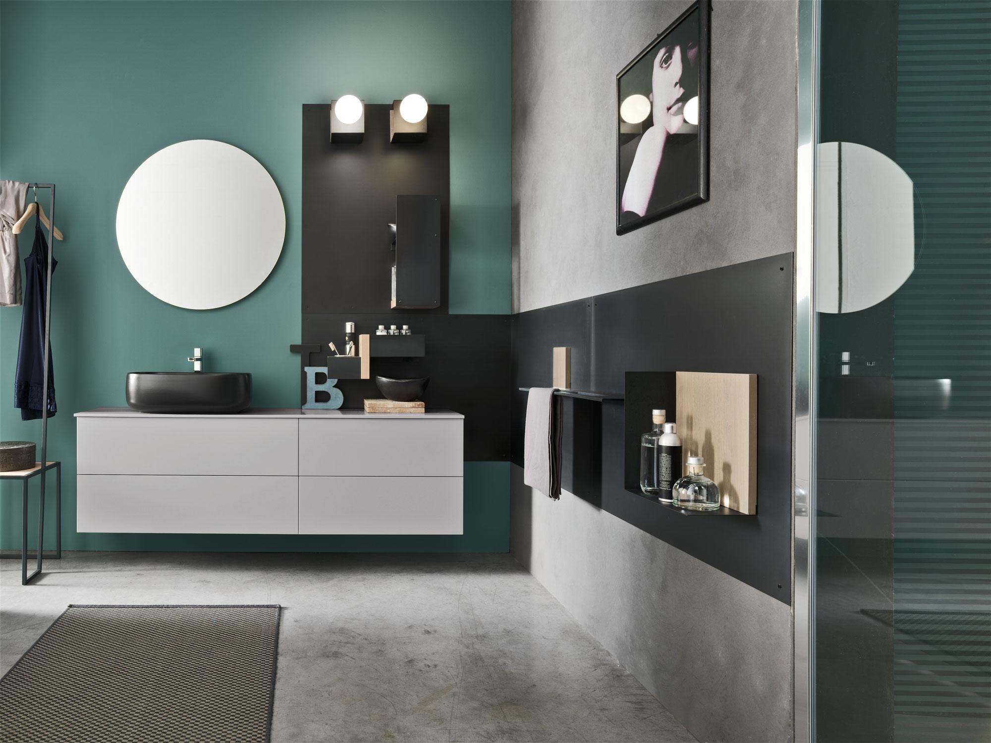 Magnetica: la stanza da bagno che cambia giorno dopo giorno