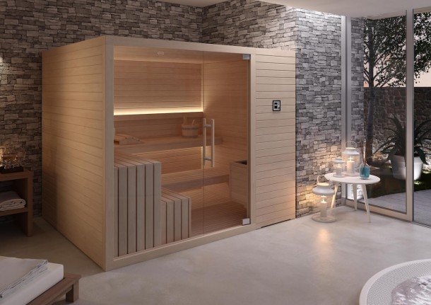 Home sauna by Jacuzzi