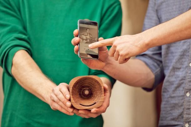 Tribola, l'amplificatore ecologico in legno