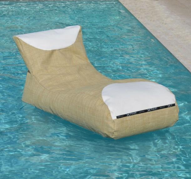 Inpool, il pouf galleggiante