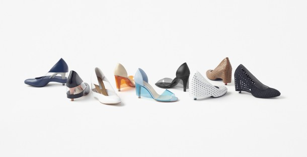 skirt shoes by Nendo