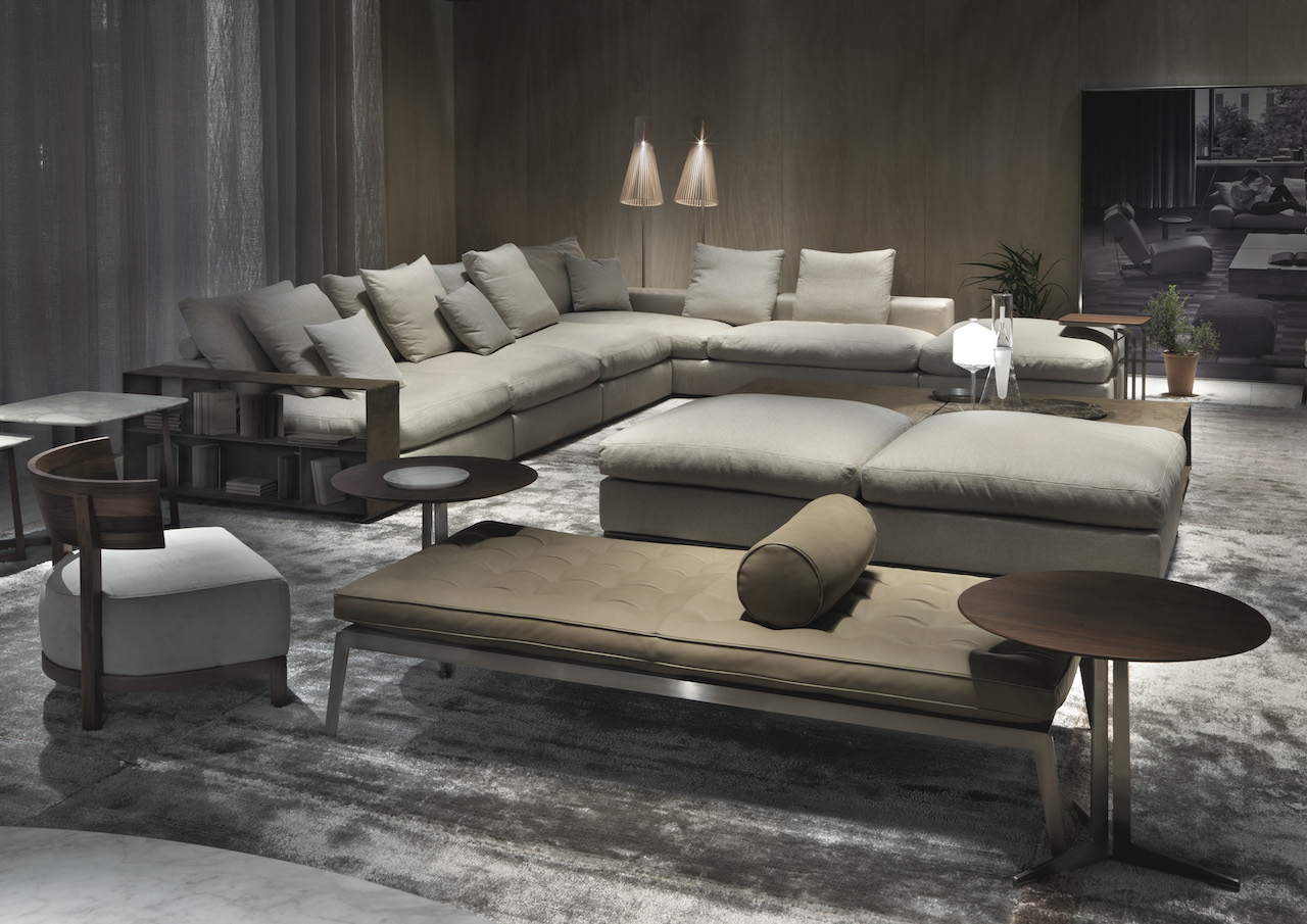 Il divano groundpiece di flexform compie 15 anni for Flexform groundpiece