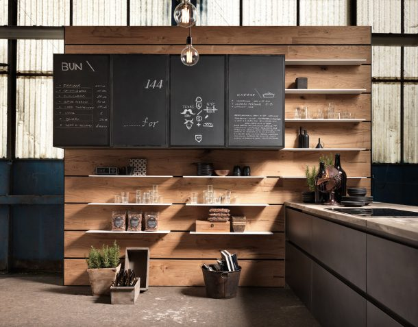 Factory by Aster, la cucina vintage e industriale