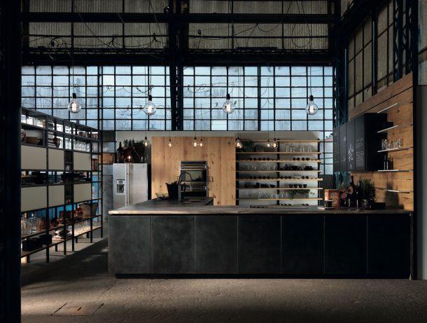 Factory by Aster, la cucina vintage e industriale