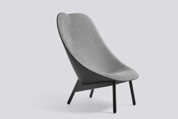 Uchiwa long chair by Hay
