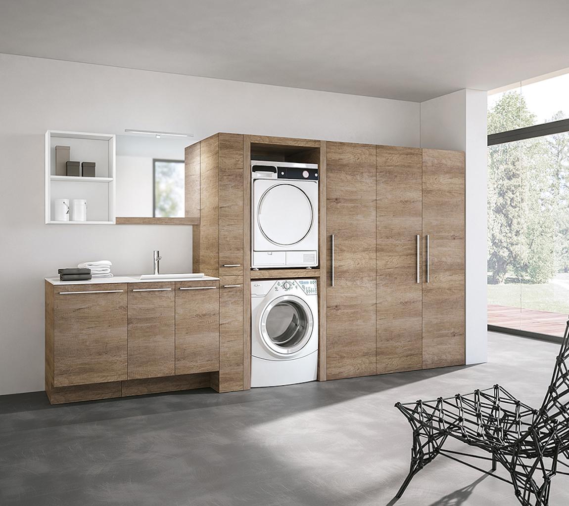 Quando la lavanderia diventa un ambiente di design for Rivista di design e produzione di mobili