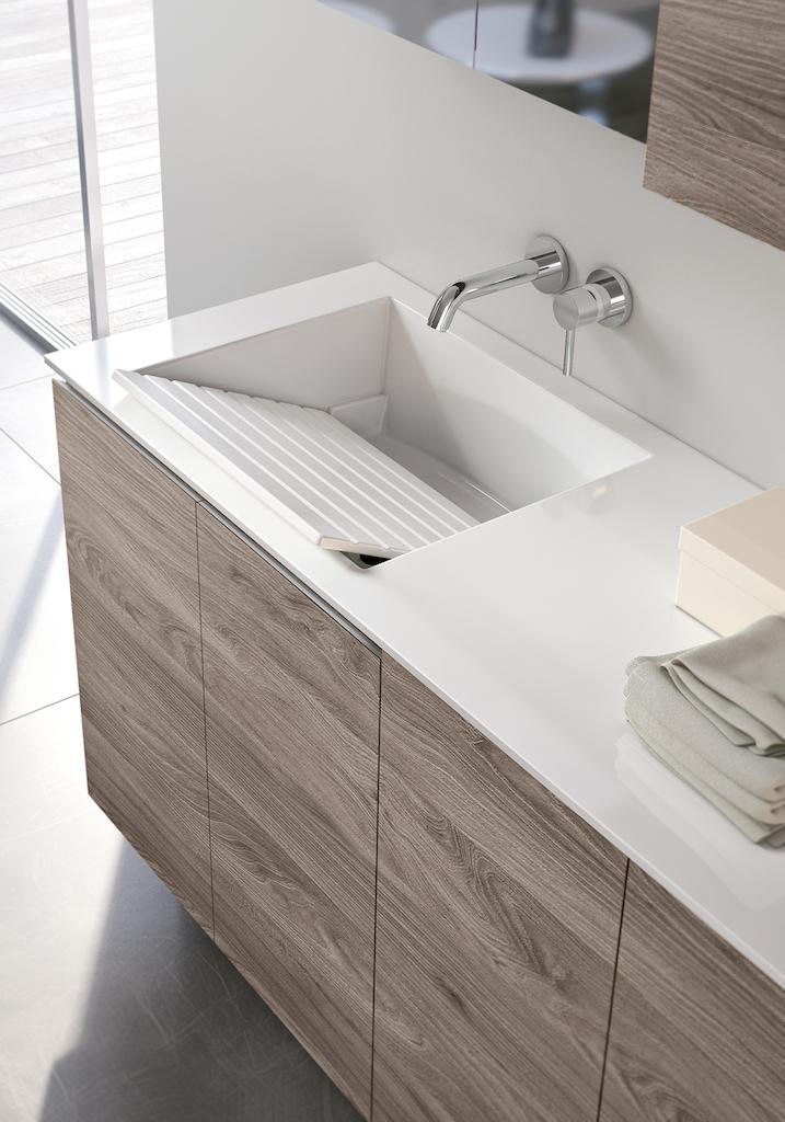 Quando la lavanderia diventa un ambiente di design - Mobili bagno lavanderia ...