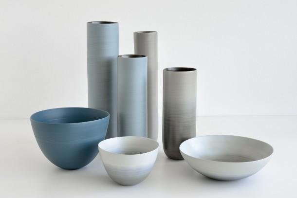Vasi in ceramica di Rina Menardi