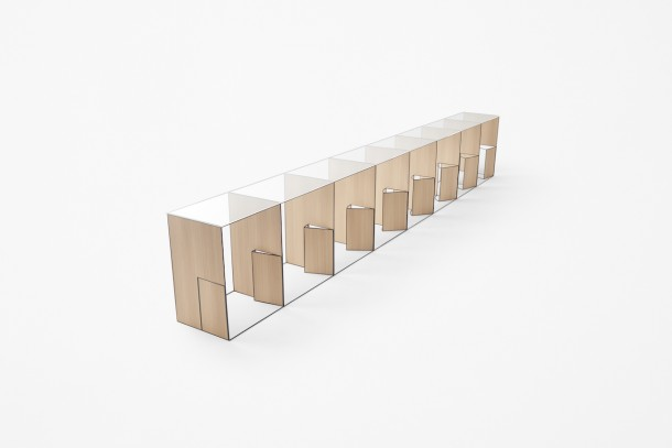 Trace Collection by Nendo