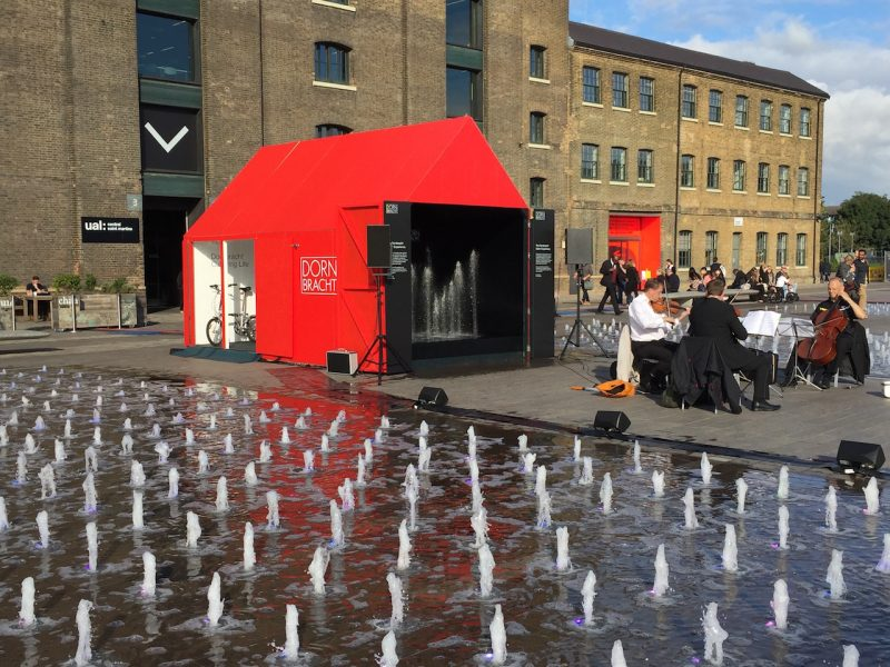 Considerazioni (e photogallery) dal London Design Festival 2016.