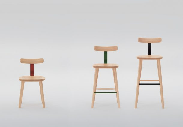 T-chair: Jasper Morrison for Maruni