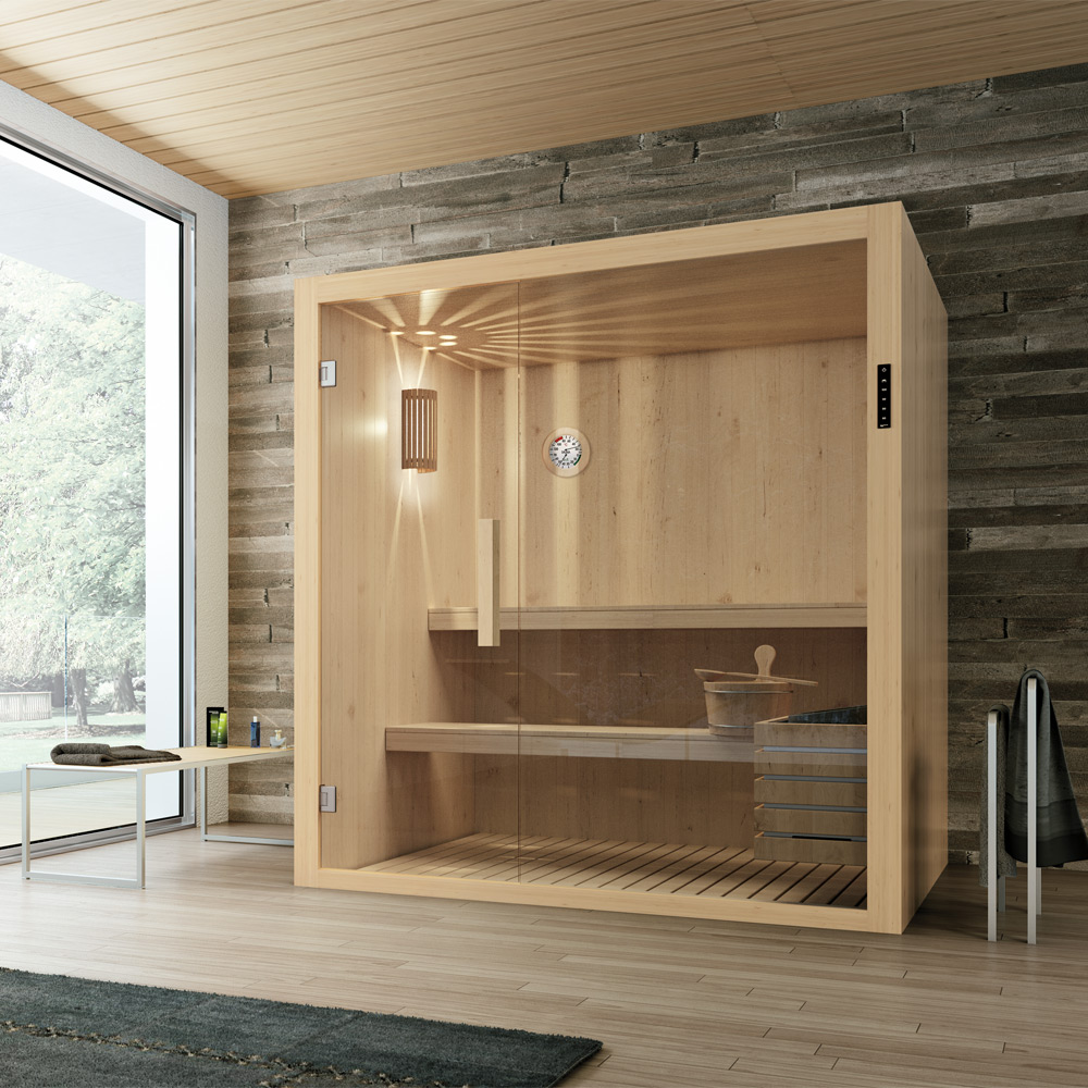 particolare sauna hafro geromin kyra design street. Black Bedroom Furniture Sets. Home Design Ideas