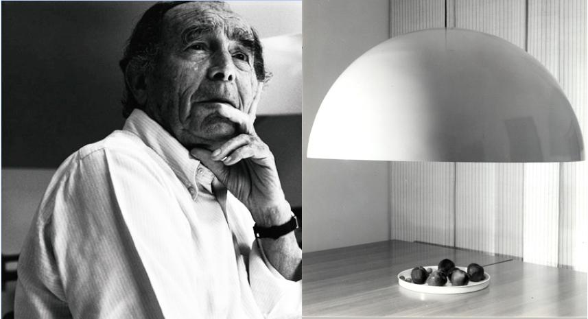 oluce celebra i 40 anni della lampada sonora di vico magistretti. Black Bedroom Furniture Sets. Home Design Ideas