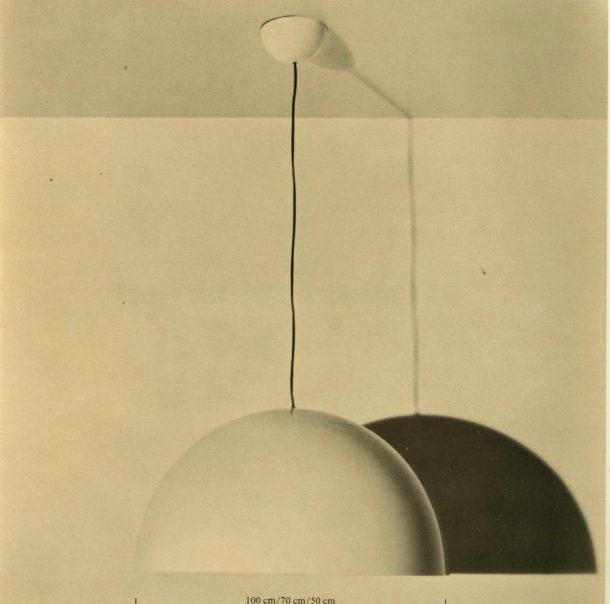 luce: lampada Sonora di Vico Magistretti