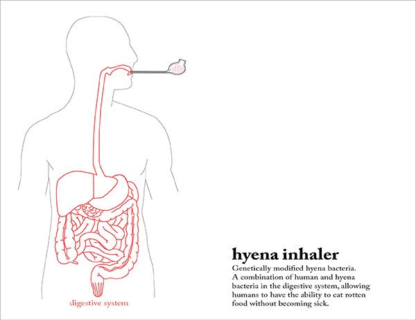 Human Hyena, il food design dedicato allo spreco di cibo