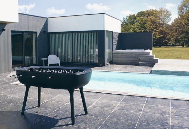 The Pure, il calcio balilla di design da esterno