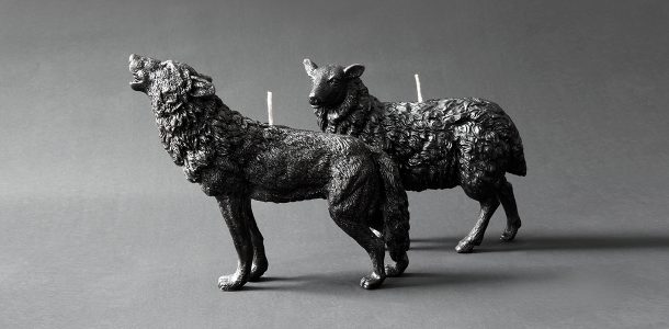 Animal candles by Haoshi