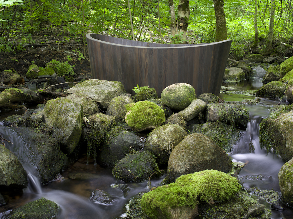 Vasche Da Bagno Zen : Khis bath tub la vasca da bagno in legno di ispirazione zen