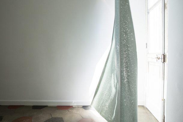 Crocetta, la tenda tridimensionale tagliata a laser