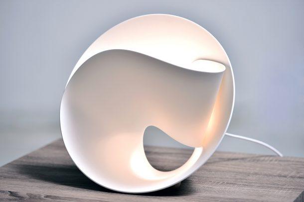 Tulip Lamp. Hi-Macs