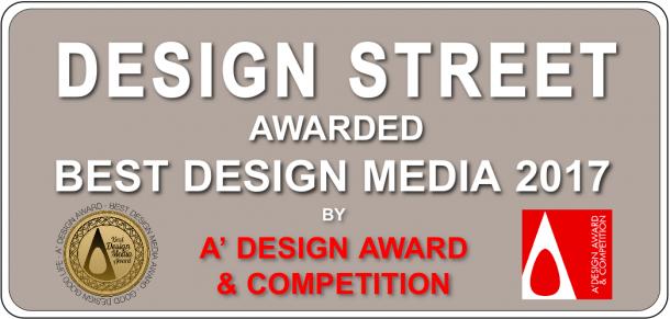 Design Street riceve il Best Design Media Award b