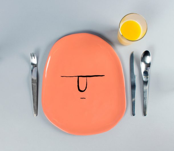 I divertenti piatti di Jean Jullien