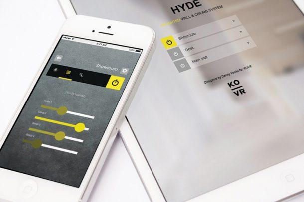 Hyde, il sistema intelligente per le pareti