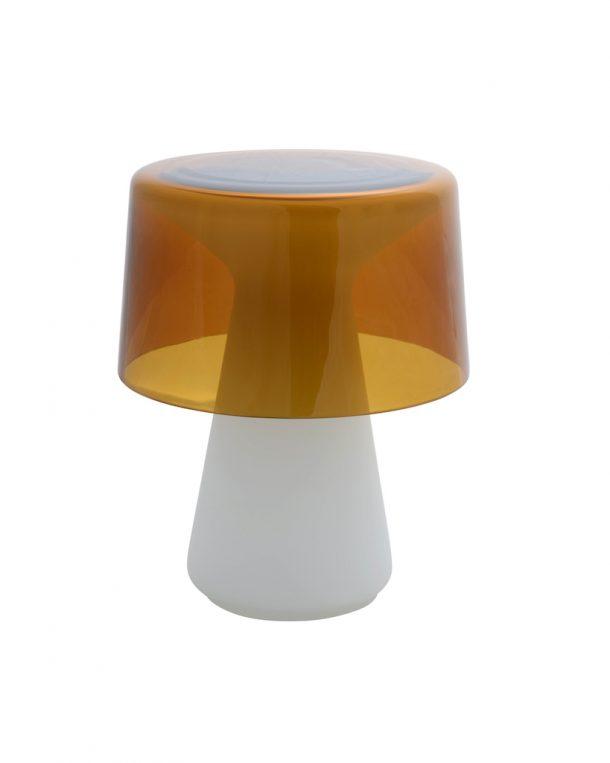 Nelly, la lampada in vetro di murano