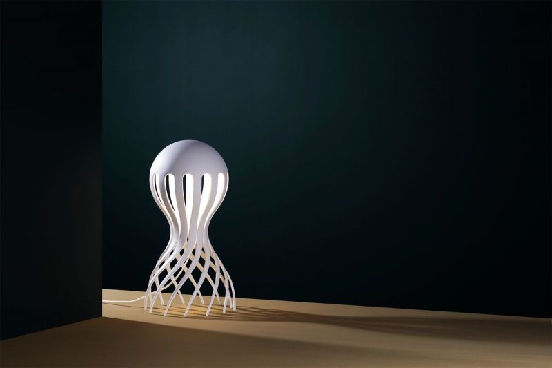 Cirrata lamp by Markus Johansson