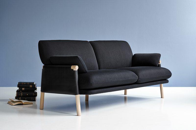 Savannah, l'essenza del design scandinavo in un divano