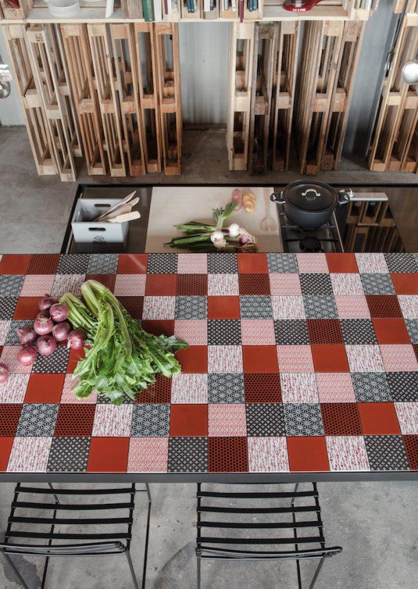 Min un nuovo piano da cucina in pietra lavica design street - Piastrelle pietra lavica ...