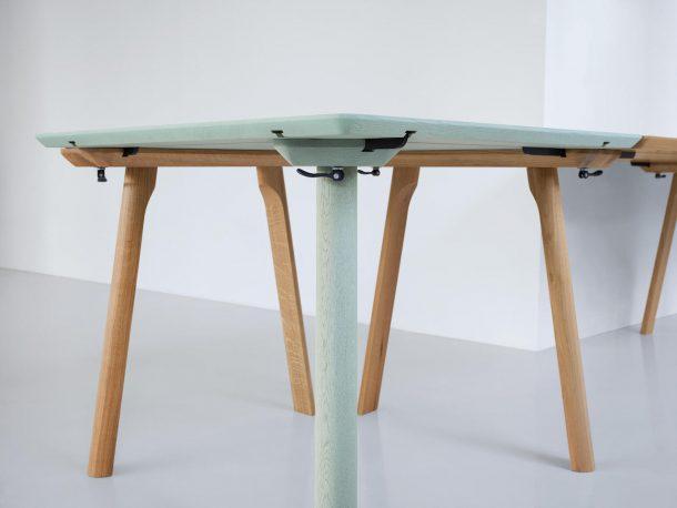 Zeitraum presenta il tavolo allungabile