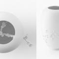 Sakura vase. Nendo for Sevres