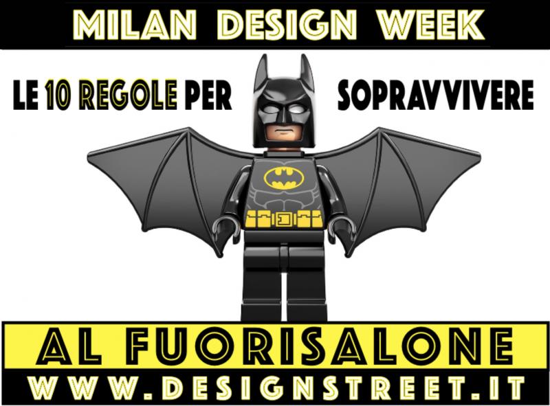Milano Design Week 2018 - Come sopravvivere al Fuorisalone