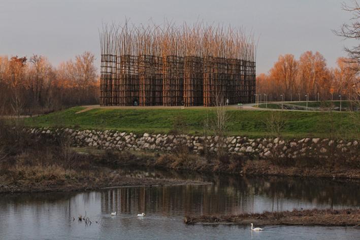 La Cattedrale Vegetale di Giuliano Mauri