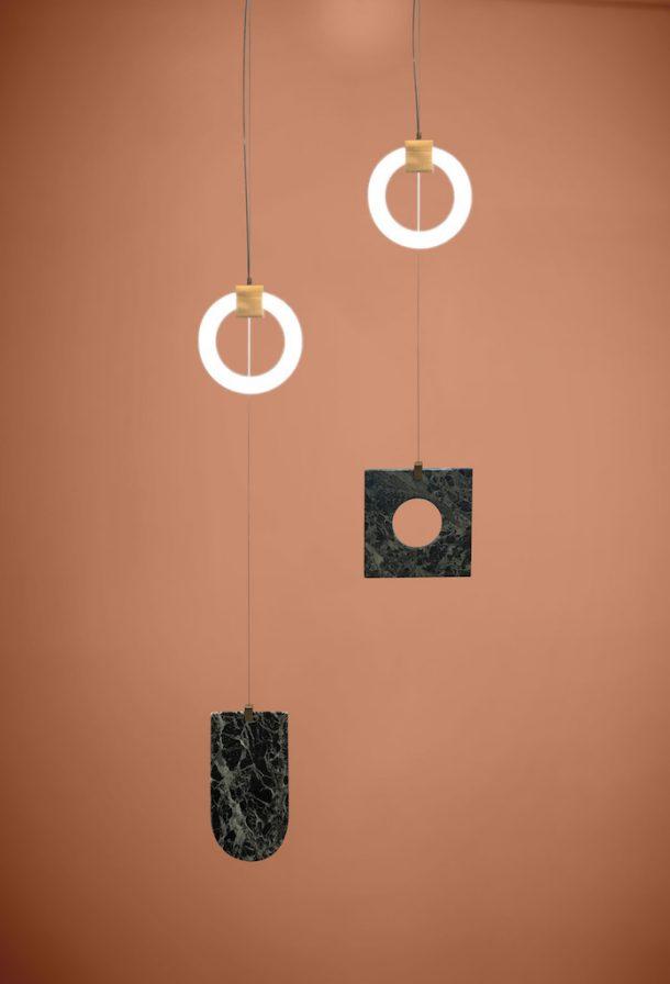 essorropia lampade marmo bronzo