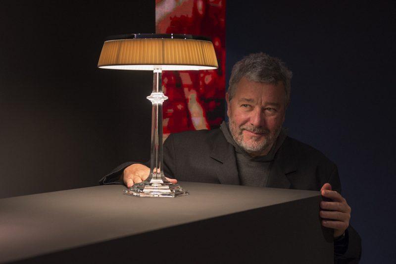 Lampada Bon Jour Versailles di Philippe Starck per Flos e Baccarat