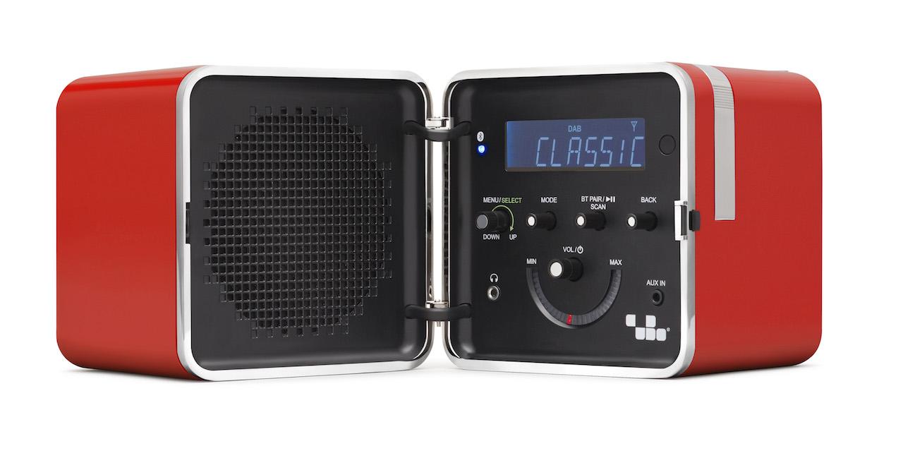 Radio cubo brionvega TS522D+S
