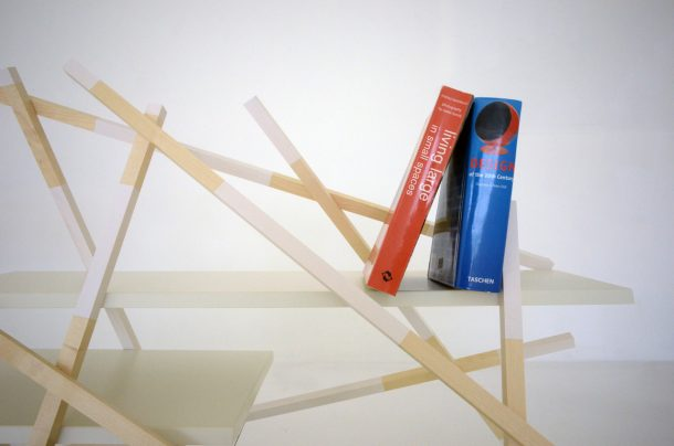 kiri libreria legno