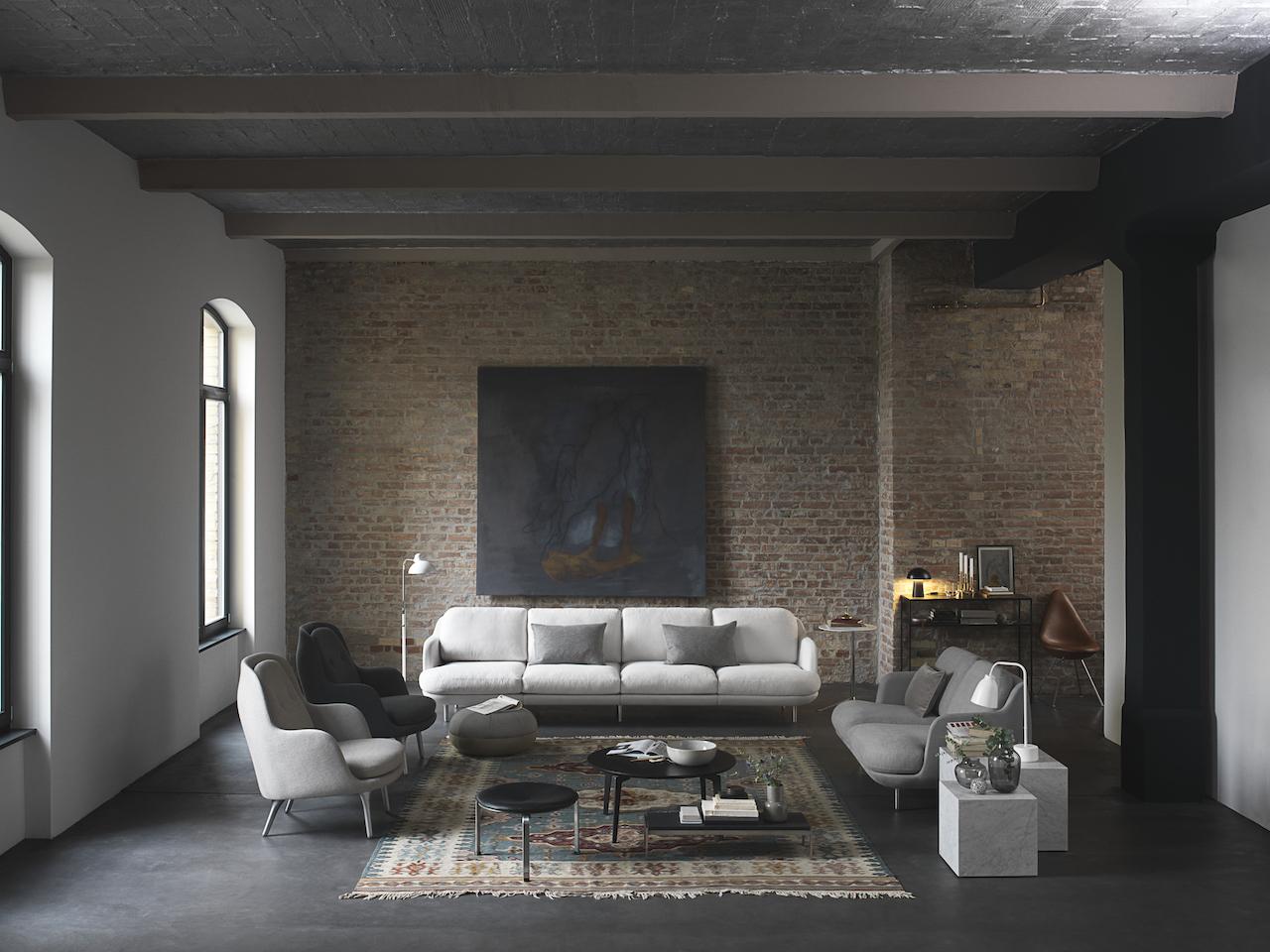 Divano In Lino Opinioni : Lune il divano per gli amanti del design danese design street