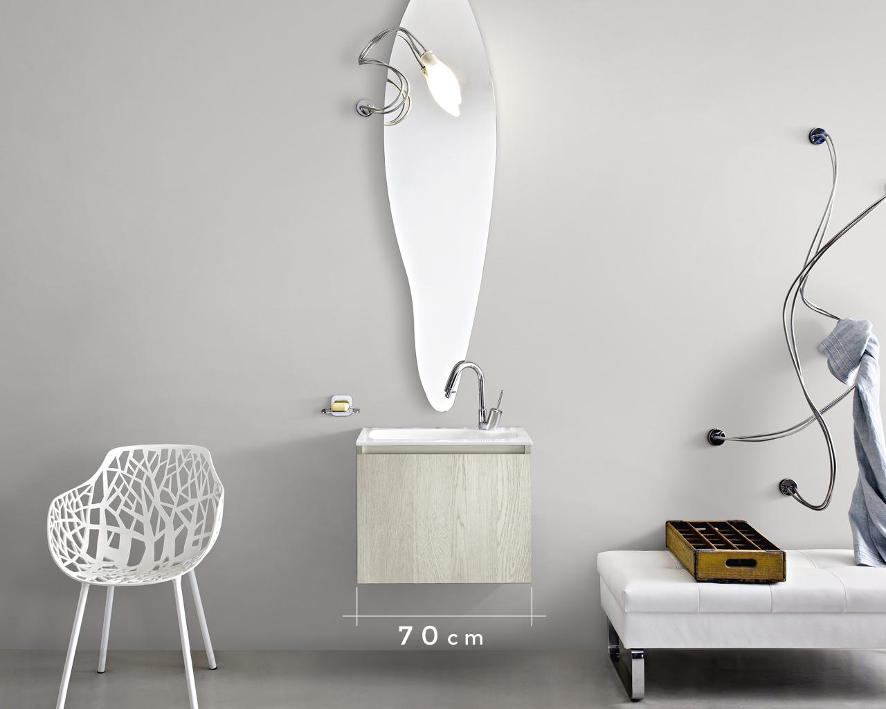 arredo bagno cerasa dalle misure personalizzate | design street - Misure Arredo Bagno