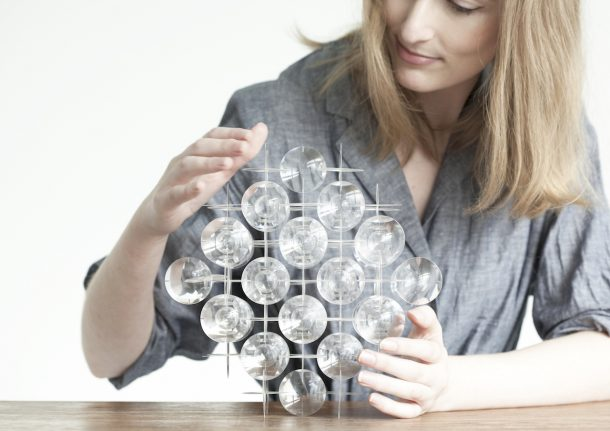 lampada cristalli