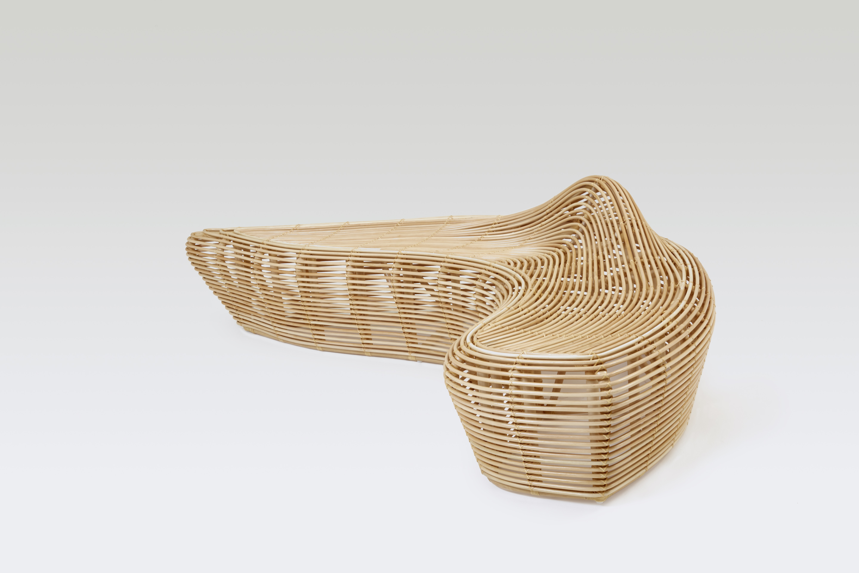 Yamakawa: l'arte giapponese del rattan - panca Linger 1