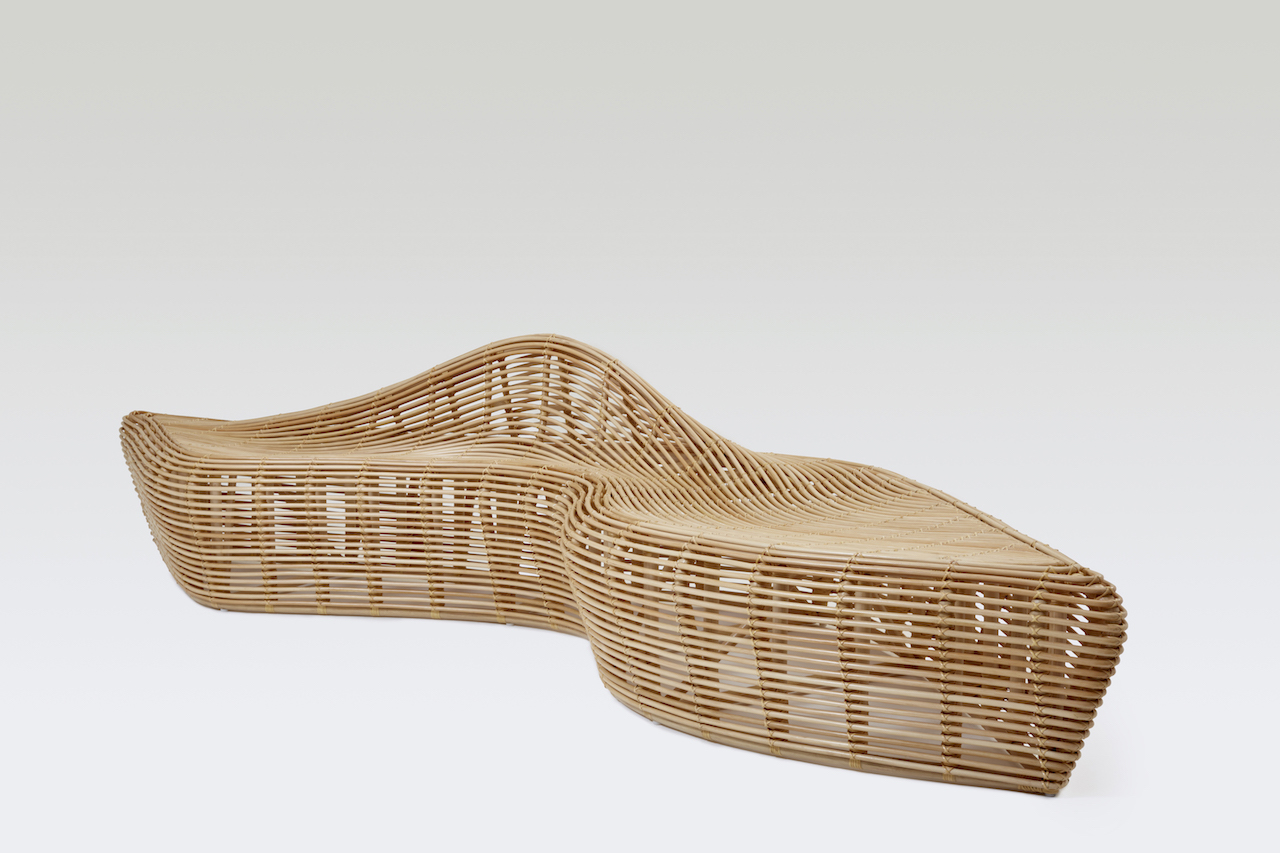 Yamakawa: l'arte giapponese del rattan - panca Linger 4