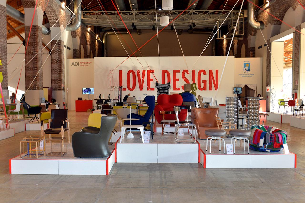 Love design 2017 il design sostiene la ricerca scientifica for Vendita oggetti design