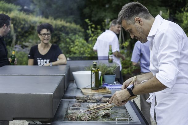 cucina modulare outdoor