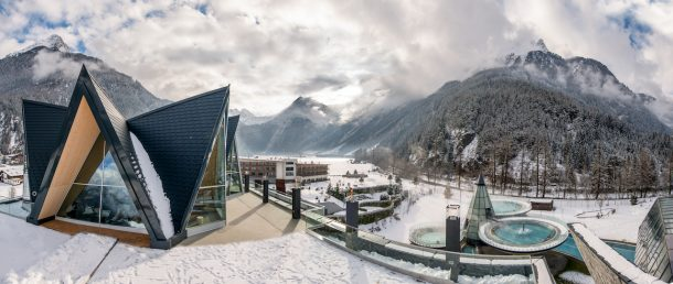 Aqua Dome Tirol. il panorama
