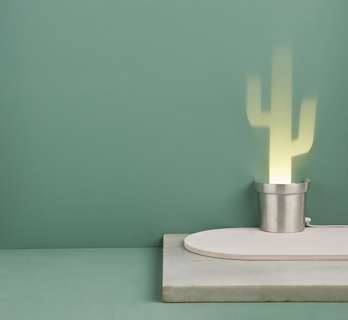 pop up lamp by Chen Bikovski. Cactus Lamp